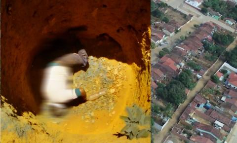 Homem é encontrado morto com sinais de violência dentro de uma fossa em Piritiba