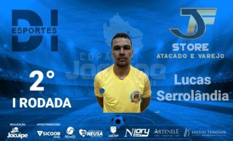 Jogador da Seleção de Serrolândia é 2º Lugar do Cartola da I Rodada, levará prêmio da JR Store