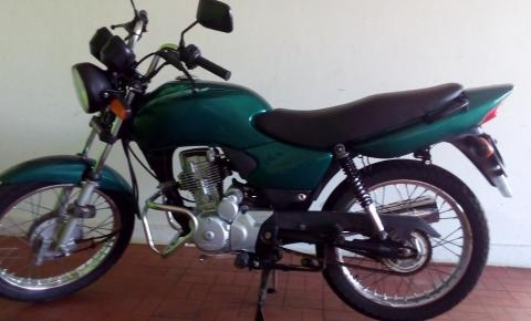 Moto é furtada em Alto do Coqueiro na cidade de Serrolândia