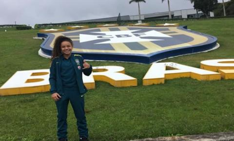 Capimgrossense é convocada para a Seleção Brasileira de Futebol Feminino sub 17