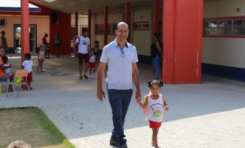 Filhos do Prefeito de Serrolândia são alunos da rede pública de ensino do Município