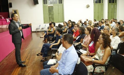 Coordenadores pedagógicos participam de encontro formativo em Salvador sobre o Novo Ensino Médio
