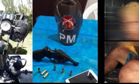 Polícia Militar prende dois homens após assalto em Piritiba