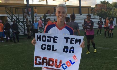 Gadu, jogadora natural de Serrolândia dá show faz 9 gols e Bahia goleia Ubaíra