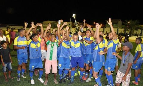 Varzeolândia é Campeão do Campeonato Rural de Serrolândia.