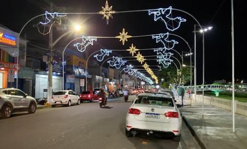 'Natal Mágico' faz de Jacobina a cidade mais iluminada no interior da Bahia
