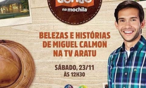 Programa Dendê na Mochila da TV Aratu apresentará Parque Estadual das Sete Passagens, próximo Sábado dia 23/11/2019.