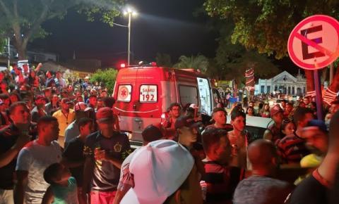 Jovem é atingida por bala perdida e morre durante comemoração do título do Flamengo na Bahia