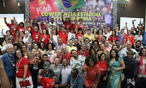 Presidente e vice-presidente do PCdoB em Serrolândia participam de Conferência Estadual do partido em Salvador