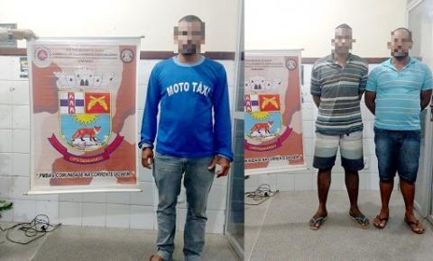 Policia prende dupla que planejava realizar assaltos em Serrolândia