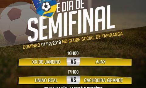 É neste final de semana, Semi-Final do 5º Campeonato do Clube Social de Tapiranga