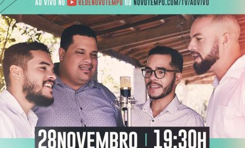Quarteto Reveren's fará participação na TV Novo Tempo na noite desta quinta-feira 28/11