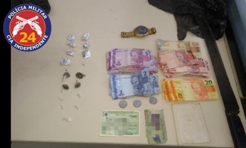 Polícia Militar prende homens por tráfico de drogas em Miguel Calmon