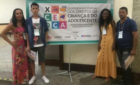 Jovens baianos assumem protagonismo na abertura da X Conferência Estadual da Criança e do Adolescente