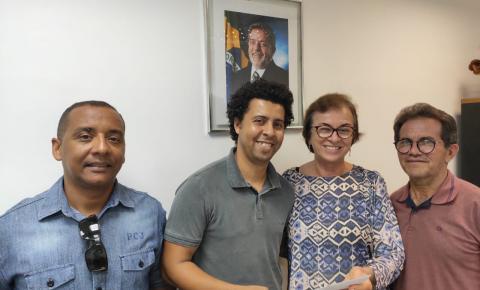 Vereador Marcinho de Sinhô visita gabinetes em busca de investimentos para Serrolândia