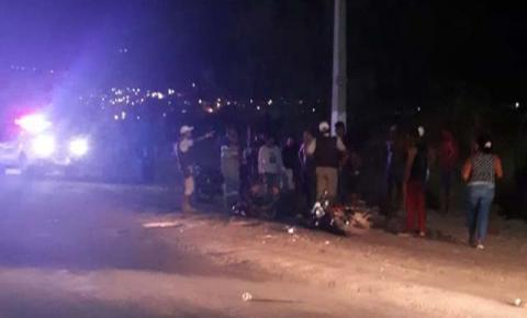Motociclista colide com caminhão em acidente na cidade de Jacobina