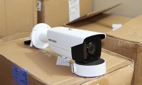 Implantação de um sistema de videomonitoramento em Jacobina