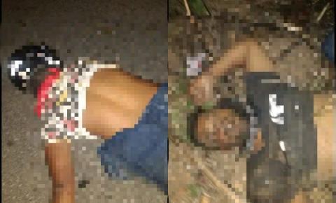 Acidente com moto deixa dois mortos na BR 324 próximo ao Junco de Jacobina