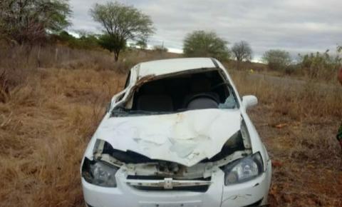Animal na pista provoca acidente no município de Ourolândia