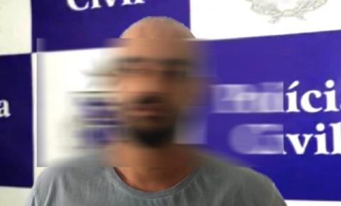 Homem é preso em Capim Grosso acusado de receptação e adulteração veículos