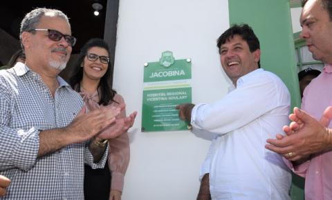 Prefeito Luciano Pinheiro reabre o Hospital Regional de Jacobina