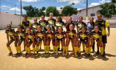 Esporte Clube Serrolândia vence Riachão do Jacuípe pela Copa Jacuípe Feminino