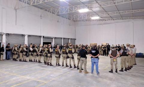 Operação CRUZADOR apreende 21 pessoas na Bahia.