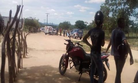 Motocicleta do motoboy Ezimar é encontrada no Distrito de Paraíso