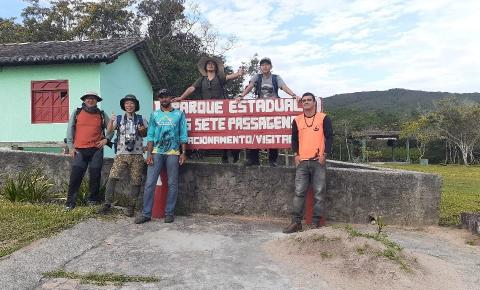 Biólogos Japoneses visitam Parque Estadual das Sete Passagens