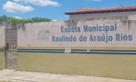 Três homens invadem escola para roubar e espancam Guarda Civil em Quixabeira
