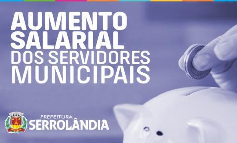 Prefeito de Serrolândia autoriza reajuste de salários de servidores municipais.