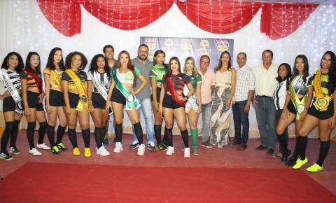 Apresentação das musas marcam o pontapé inicial para o Campeonato Municipal de Serrolândia