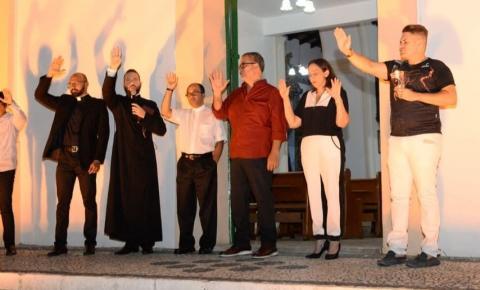 Prefeitura de Jacobina realiza Momento de Luz em alusão à Caminhada da Luz