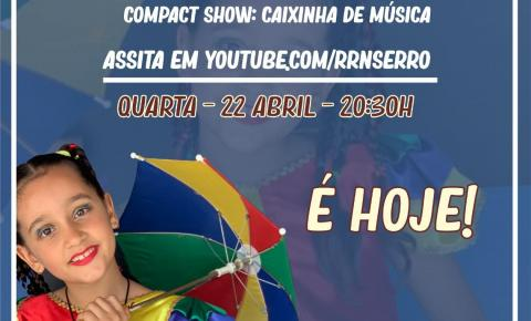 Não perca a live - Maria Rita COMPACT SHOW