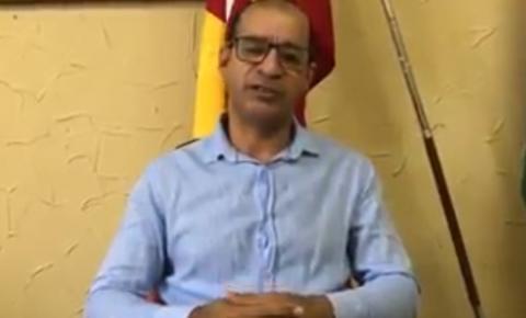 Prefeito Gonçalves fala sobre reabertura do comércio em Serrolândia: Assista