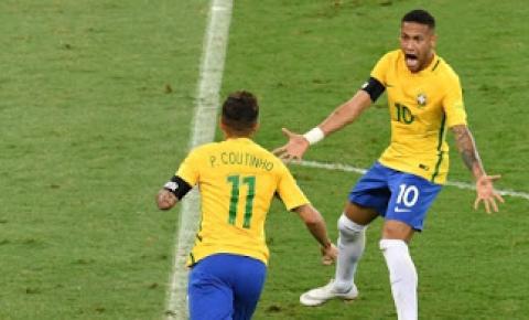 Brasil vence a Argentina no Mineirão e segue líder