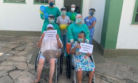 Casal de idosos de Capim Grosso vence o Coronavírus no Hospital Regional de Jacobina