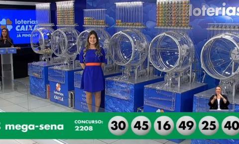 Mega-Sena acumula e vai a R$ 40 milhões