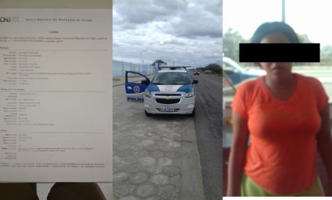 POLICIAIS MILITARES CUMPREM MANDADO DE PRISÃO EM CAPIM GROSSO-BA