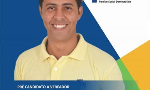 Marcinho de Sinhô reafirma pré candidatura a vereador
