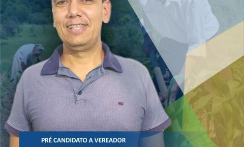 Alex da Agricultura lança pré candidatura a vereador