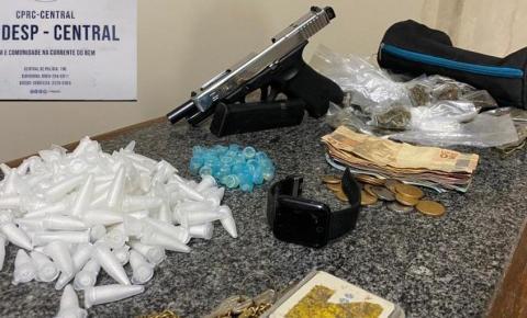 Suspeito de envolvimento em grupo criminoso morre em confronto com polícia em Salvador; pistola austríaca foi apreendida