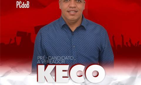 Keco do Salamin lança pré-candidatura