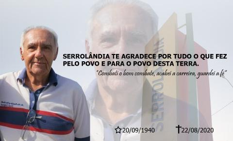 Morre aos 79 anos Antonio Pereira Neto conhecido como Tozinho Pereira