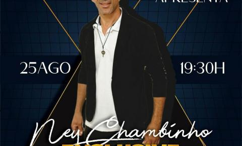 Estreará hoje a Live Inside com Ney Chambinho