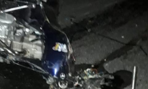 Motociclista morre após bater de frente com caminhão em rodovia do sudoeste do estado