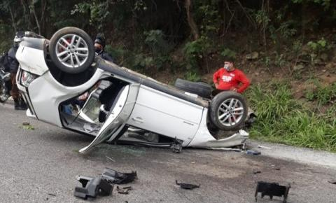 Acidente automobilístico entre Novo Paraíso e Jacobina