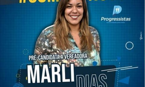 Marli Dias lança pré-candidatura a vereadora