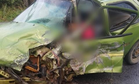 Casal morre, vítima de colisão entre veículos na BR 324 em Jacobina
