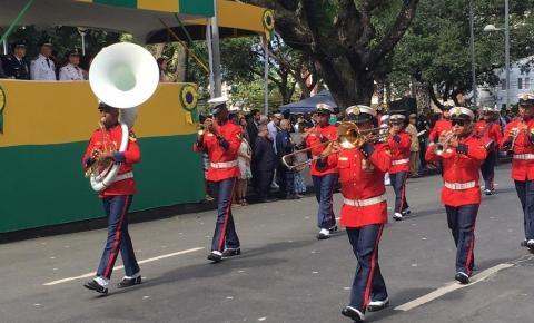 Pela 1ª vez desde 1949, feriado da Independência é comemorado sem desfile cívico na Bahia